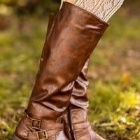 Anything Goes Boots-Chocolate