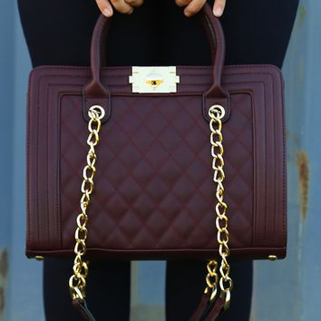She's Out Of Your League Purse: Maroon