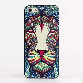 Trippy Aztec Lion Hard Case for iPhone 5 / 5S / 6 / 6 Plus