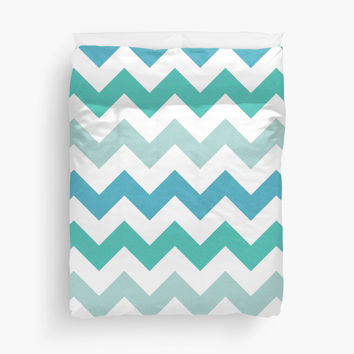 Lagoon Chevron Pattern