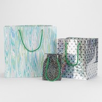 Holiday Gift Bag Set- Blue One