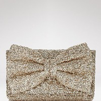 Betsey Johnson Bow-Tiful Sequin Clutch - Clutches &amp; Evening - Bloomingdales.com