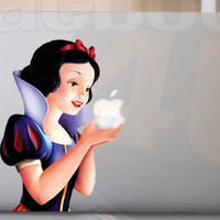 Snow White MackBook Decal sticker 11&#x27;&#x27; 13&#x27;&#x27; 15&#x27;&#x27; 17&#x27;&#x27; Ipad