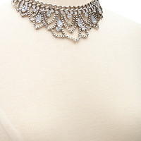 Scalloped Snake Chain Necklace