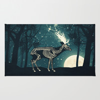 The Forest of the Lost Souls Rug by Paula Belle Flores