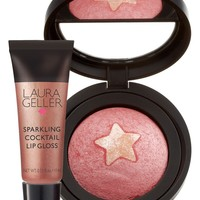 Laura Geller Beauty 'Gilded Rose' Two-Piece Set for Cheeks & Lips (limited Edition) ($43 Value)