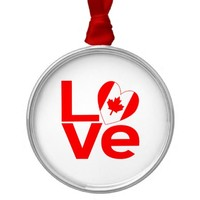Canada in Love Red
