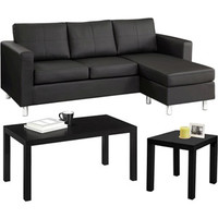 Walmart: Small Spaces Living Room Value Bundle