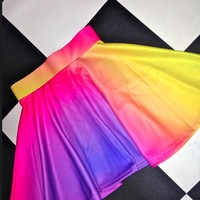 SWEET LORD O'MIGHTY! SUNSET SK8R SKIRT