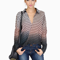 Lana Lang Plaid Top $44