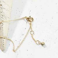 Grace Delicate Stone Chain Necklace - Urban Outfitters