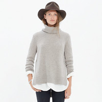 CASHMERE LAYERING TURTLENECK