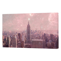 Stardust Covering New York by Bianca Green (Canvas)