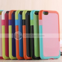 For iPhone 6 TPU + PC Wave Point Stripe Case Cover Free Shipping - DinoDirect.com