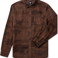 Stussy Brown Savannah Cord Shirt | HYPEBEAST Store. Shop Online for Men's Fashion, Streetwear, Sneakers, Accessories