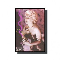 Neonetics Marilyn Monroe with Perfume Neon Poster Sign - Marilyn Monroe Perfume Neon Poster Sign