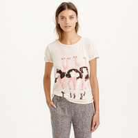 DONALD ROBERTSON™ FOR J.CREW OSTRICH TEE