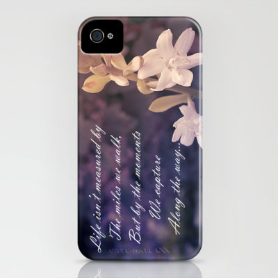 Life's Treasures, Vintage Floral iPhone Case by Louise Wagstaff | Society6
