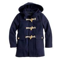 KIDS' WOOL MELTON TOGGLE COAT WITH THINSULATE®
