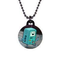 Adventure Time Beemo BMO Image Necklace