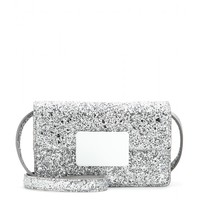 saint laurent - lulu bunny small glitter shoulder bag