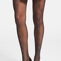 Wolford 'Angelina' Sequin Embellished Sheer Tights | Nordstrom