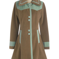 Seated by the Stage Coat | Mod Retro Vintage Coats | ModCloth.com