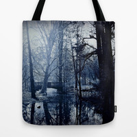 Reflective Thoughts In Parco Sempione Tote Bag by Louisa Catharine Forsyth #society6