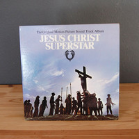 Jesus Christ Superstar Sound Track / Double LP / Record Album Vinyl