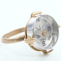 Compass Ring | Street Style Rings | MessesOfDresses.com