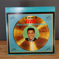 Elvis Presley / Elvis&#x27; Golden Records / Volume 3 / LP Vinyl Record Album