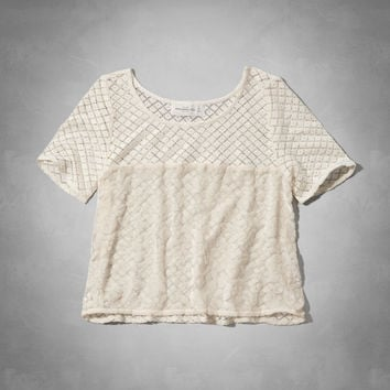 Chelsea Lace Tee