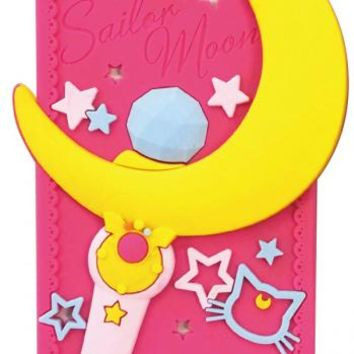 Strapya World : Sailor Moon Character Silicone Case for iPhone 5s/5 (Moon stick)