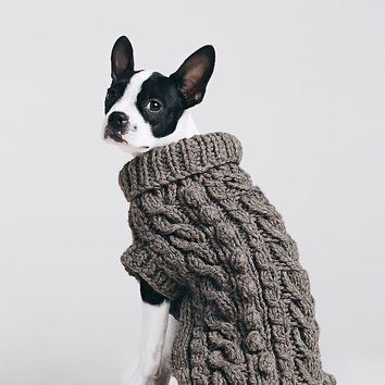 Free People Cable Knit Turtleneck
