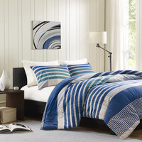 Ink and Ivy Conner 3-piece Mini Duvet Cover Set