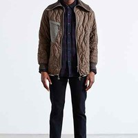 Urban Renewal Vintage German Zip-Up Jacket - Urban Outfitters