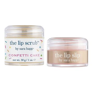 sara happ 'The Lip Scrub - Confetti Cake' Gift Set (Limited Edition)
