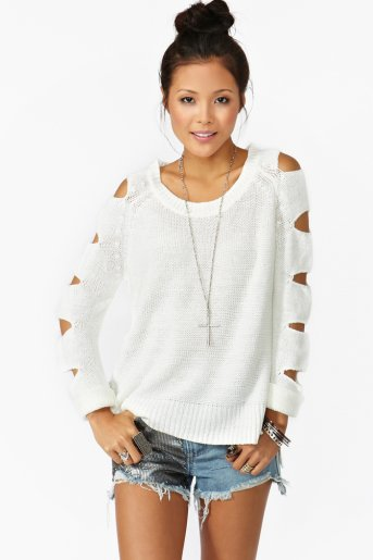 Slasher Knit - Ivory