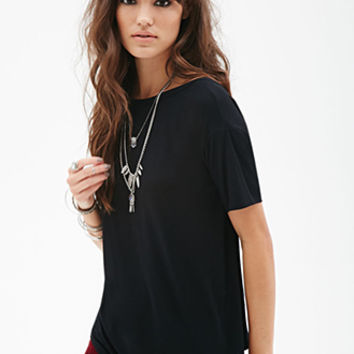 Scoop-Back Tee