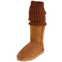Australia Luxe Collective Women's Almost Famous Short Sheepskin Boot With Stocking - designer shoes, handbags, jewelry, watches, and fashion accessories | endless.com