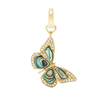 Abalone Butterfly Charm
