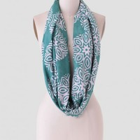 Fields Of Green Infinity Scarf By Della