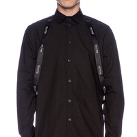 Stampd Strapped Button Down in Black