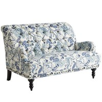 Chas Loveseat - Meadow Indigo