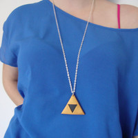 Legend of Zelda Triforce Symbol Necklace