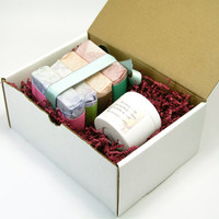 Four Soap Gift Set plus a 4 oz Lotion, You Pick, Gift Set, Soap Sampler