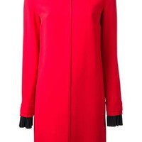 Victoria Victoria Beckham Pleat Cuff Shift Dress - Elite - Farfetch.com