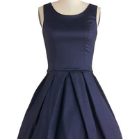 Meant to Bijou Dress in Navy | Mod Retro Vintage Dresses | ModCloth.com