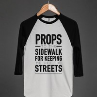 Off the Streets-Unisex White Tank