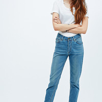 Courtshop Cleo Slim Boyfriend Jeans in Orchid Blue - Urban Outfitters